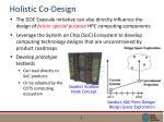 holistic co design
