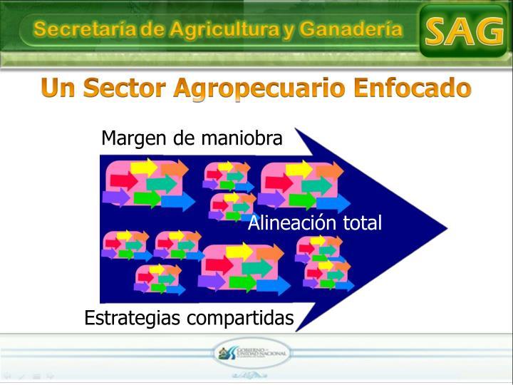 Un Sector Agropecuario Enfocado