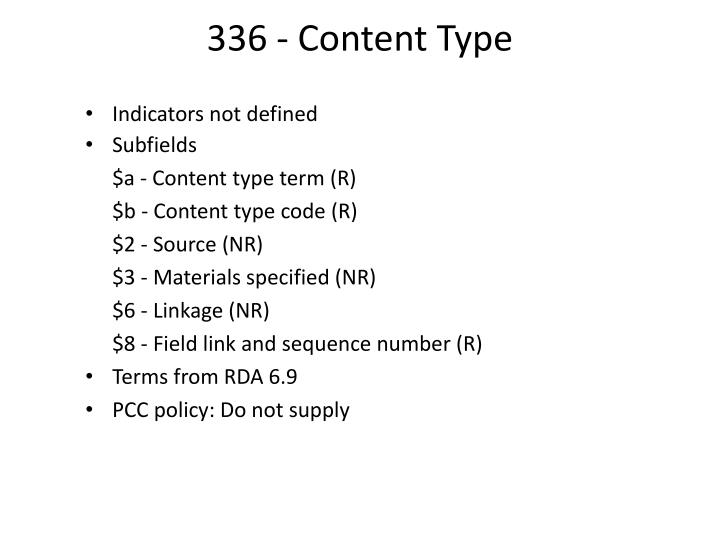 336 - Content Type