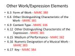 other work expression elements