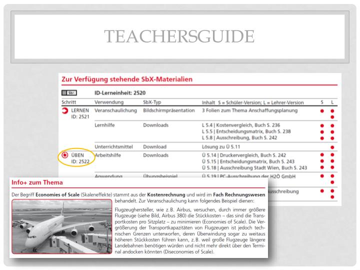 Teachersguide