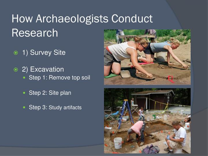 How Archaeologists Conduct Research