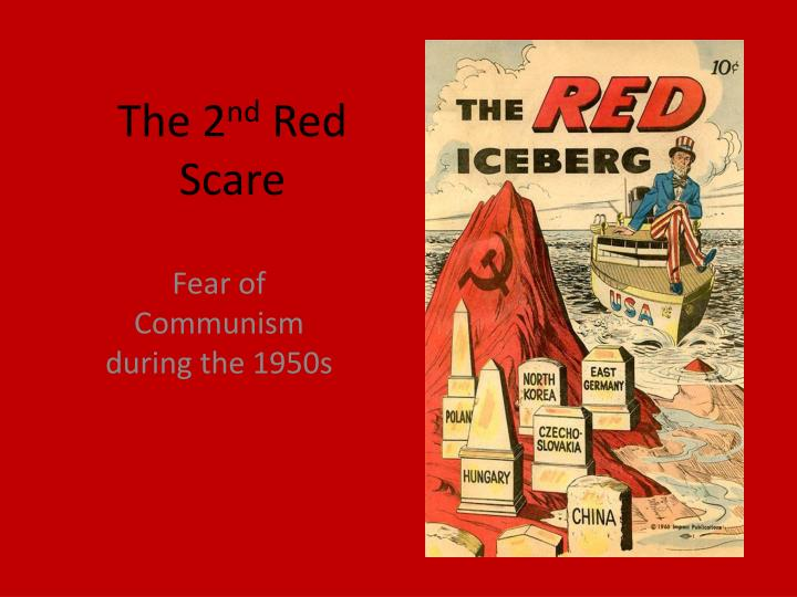Why did communism cause such fear in the United States in the postwar period?