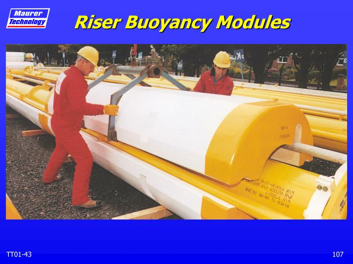 Riser Buoyancy Modules