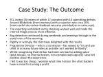 case study the outcome