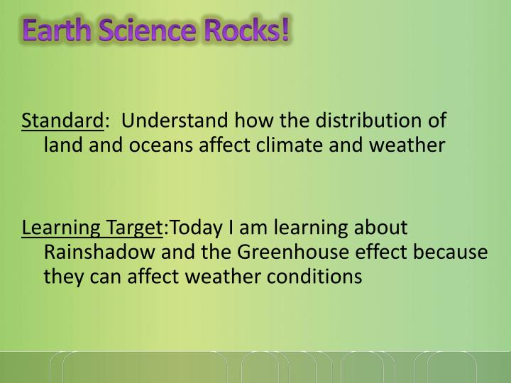 Earth Science Rocks!