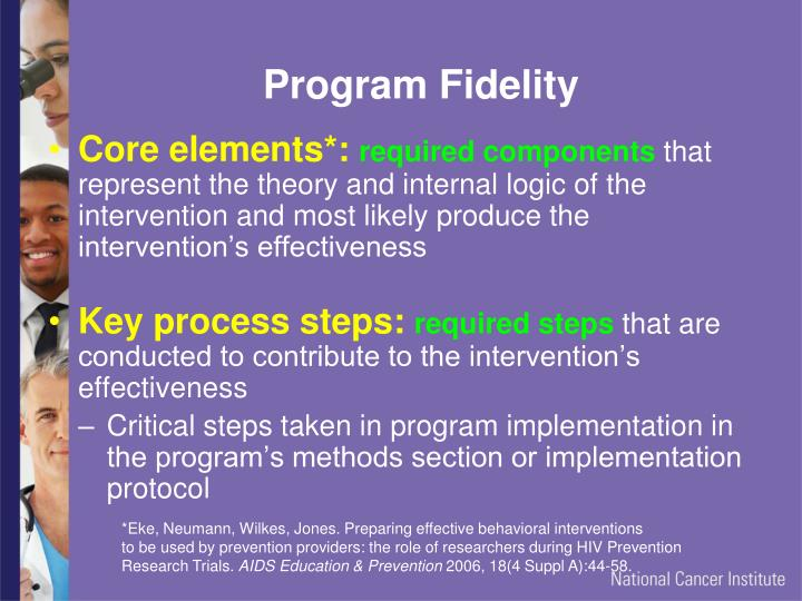 Program Fidelity