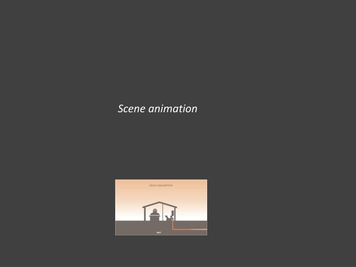 Scene animation