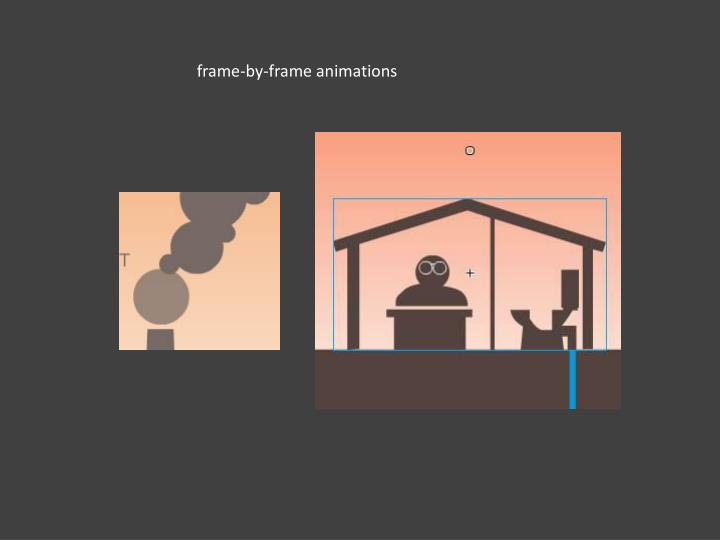 frame-by-frame animations