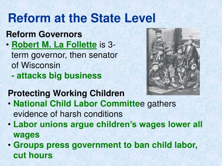 Reform at the State Level