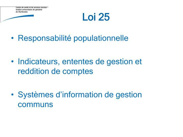 Loi 25