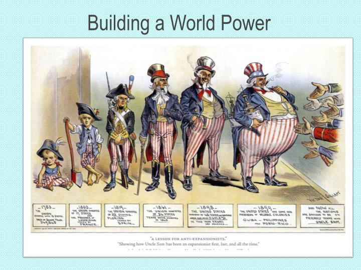Building a world power