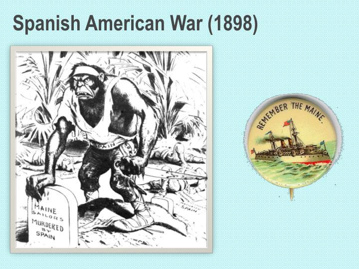 Spanish American War (1898)