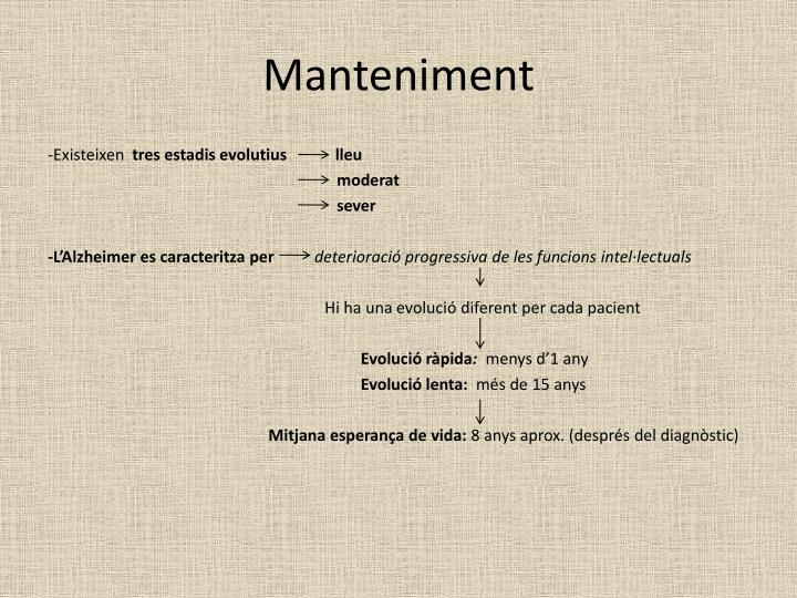 Manteniment