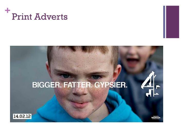 Print Adverts