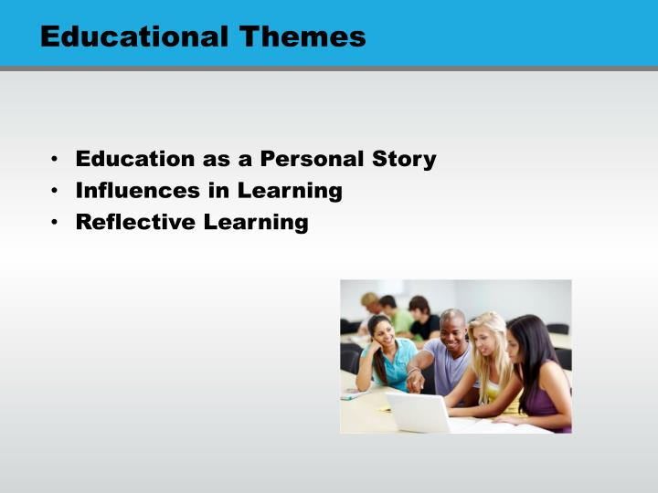 Education as a Personal Story