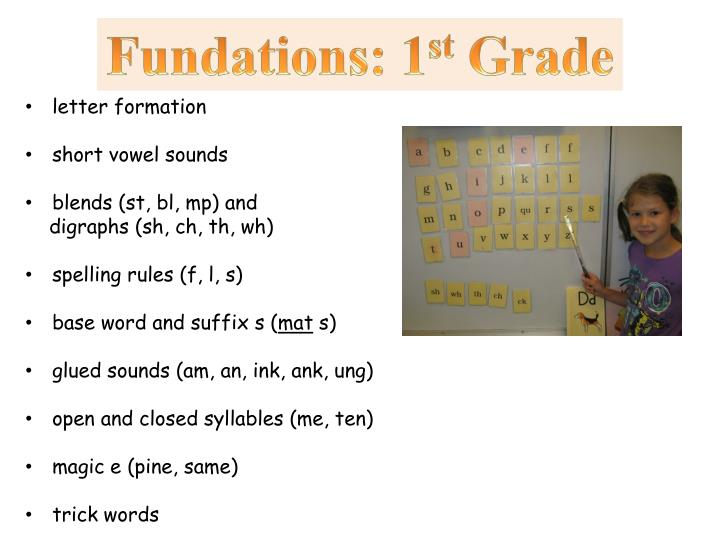 Fundations: 1