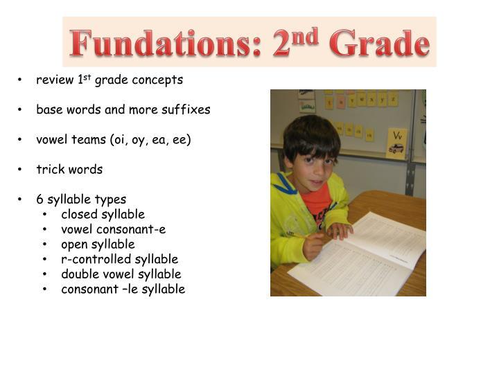 Fundations: 2