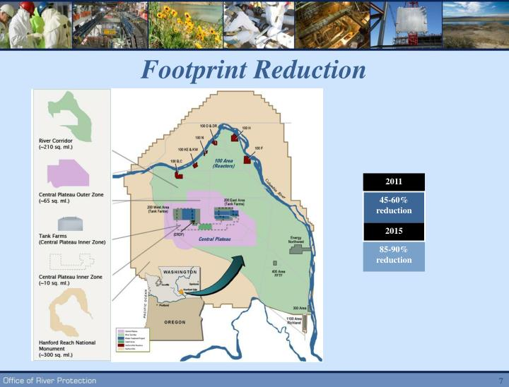 Footprint Reduction