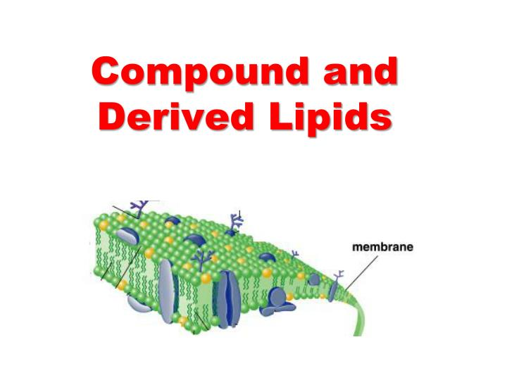 Compound and derived lipids