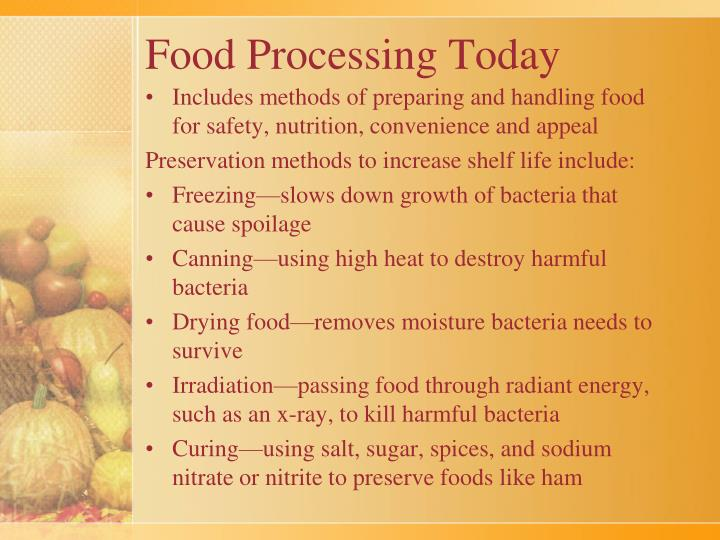 Food Processing Today