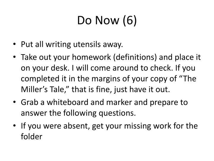 Do Now (6)