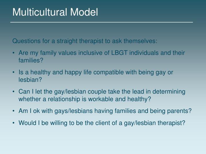 Multicultural Model