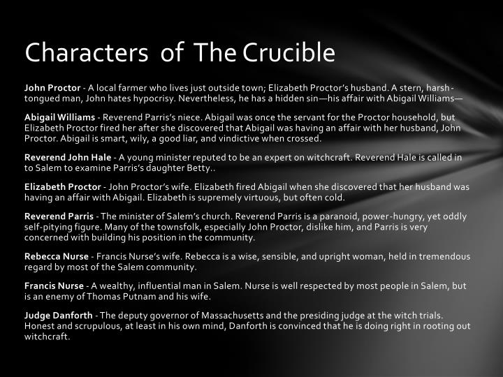 Characters  of  The