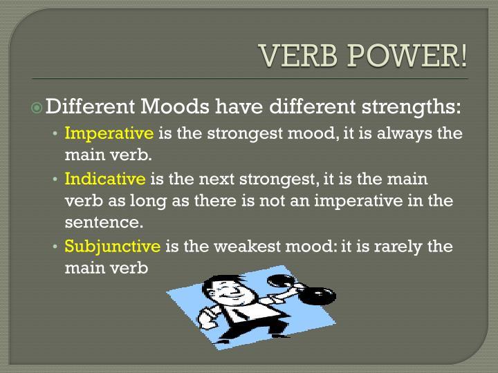 VERB POWER!