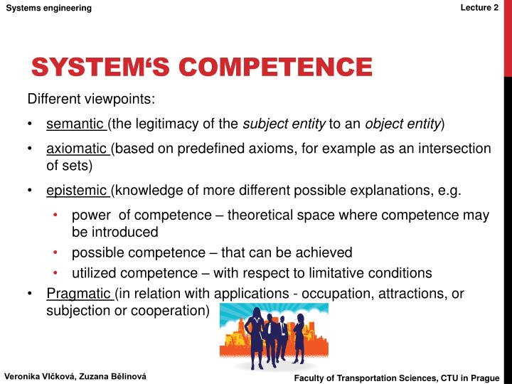 System's competence