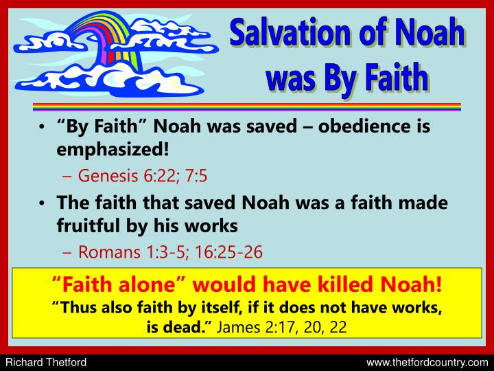 Salvation of Noah