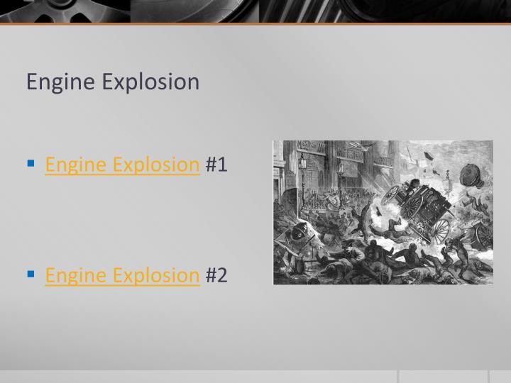 Engine Explosion
