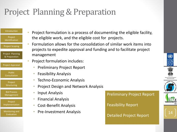 Project  Planning & Preparation