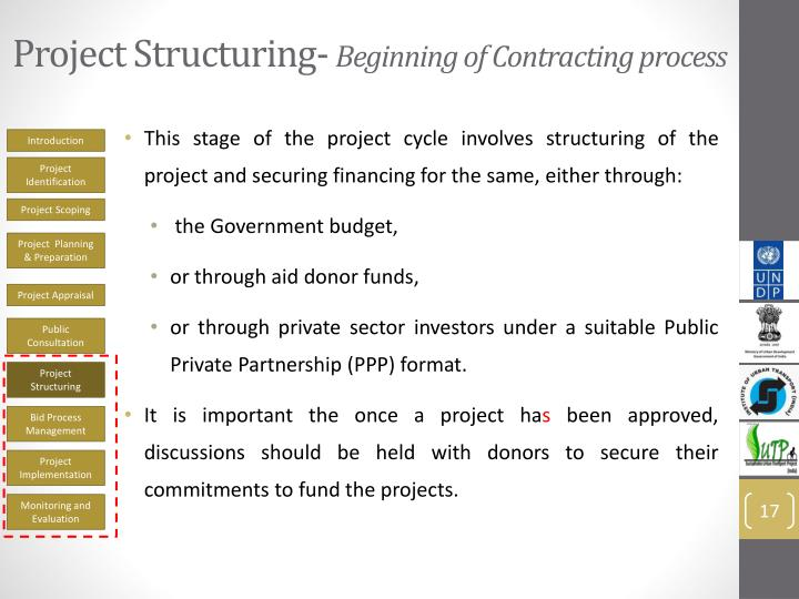Project Structuring-