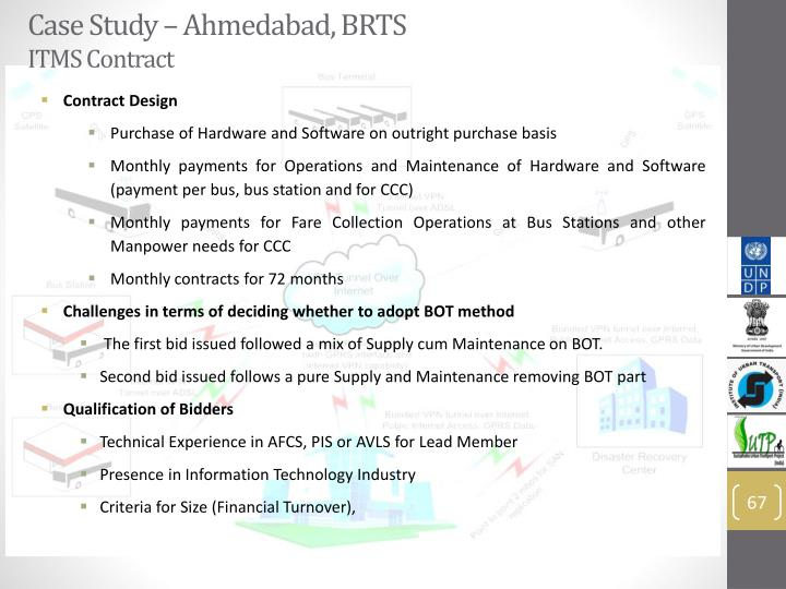 Case Study – Ahmedabad, BRTS