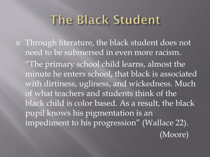 The Black Student