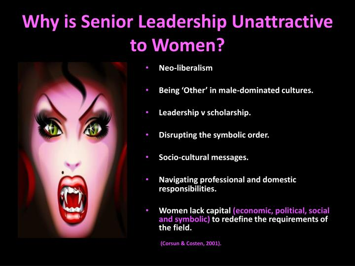 Why is Senior Leadership Unattractive to Women?