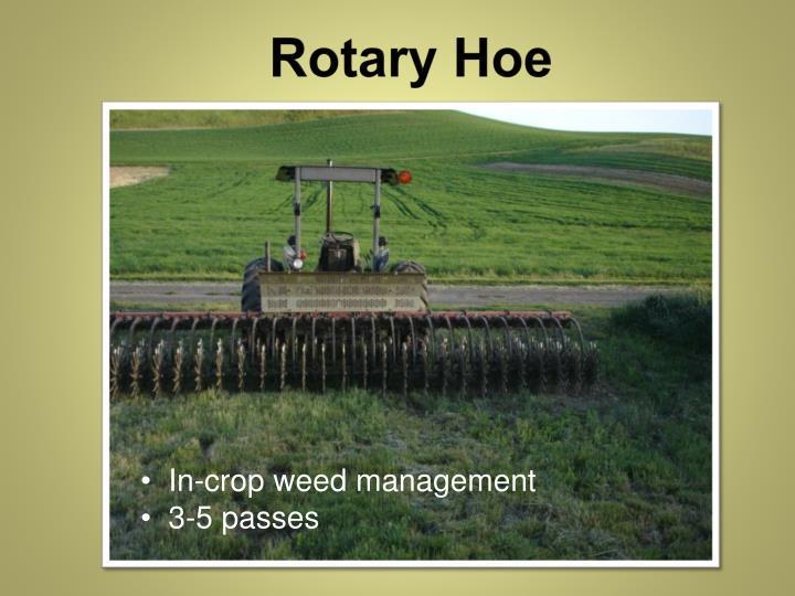 Rotary Hoe