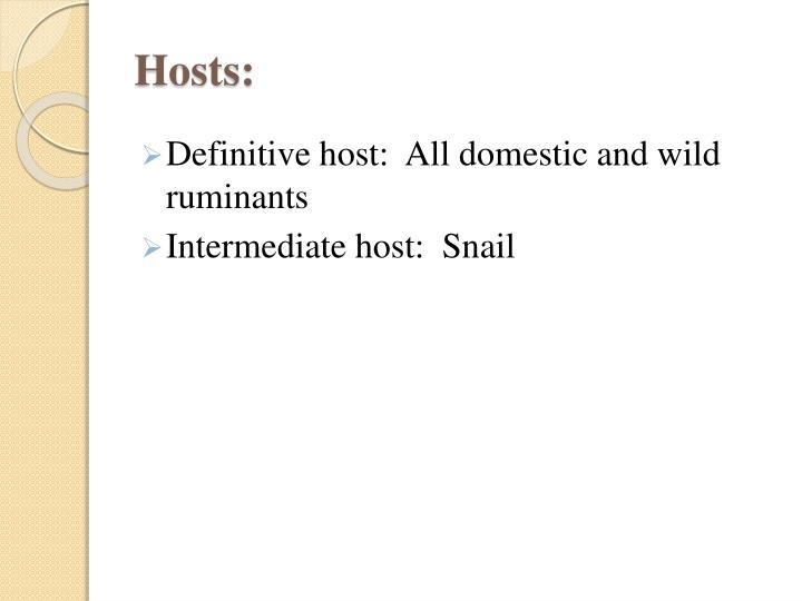 Hosts: