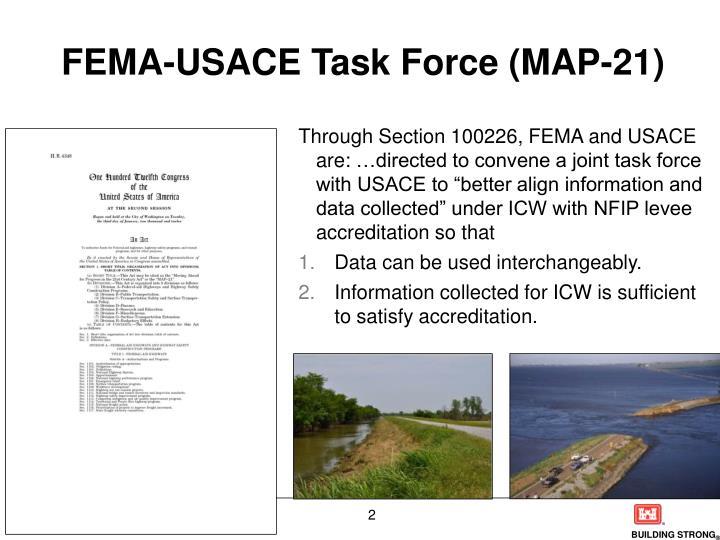 FEMA-USACE Task Force (MAP-21)