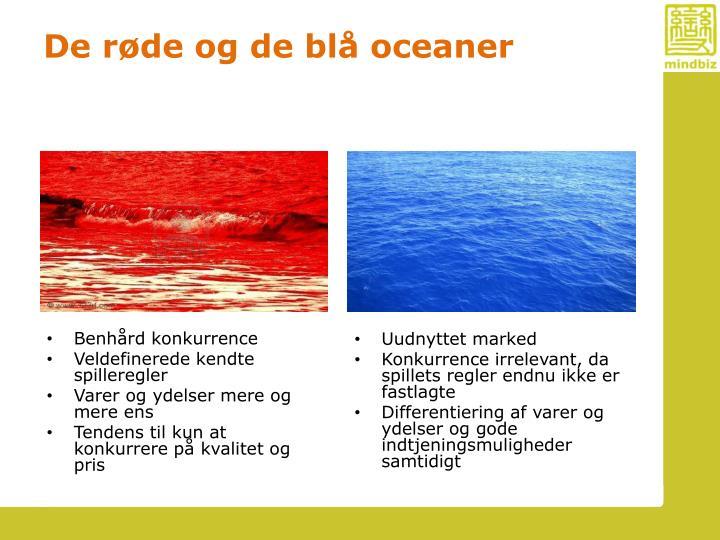 De røde og de blå oceaner