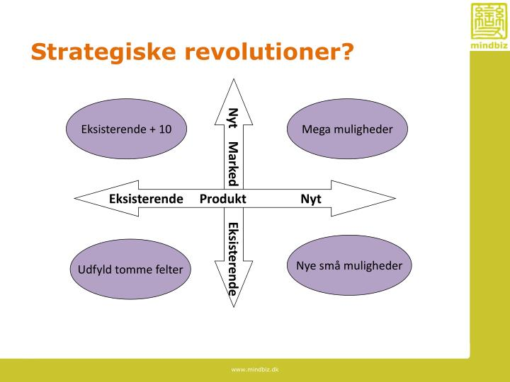 Strategiske revolutioner