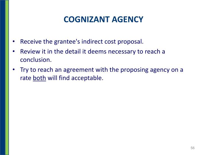 COGNIZANT AGENCY