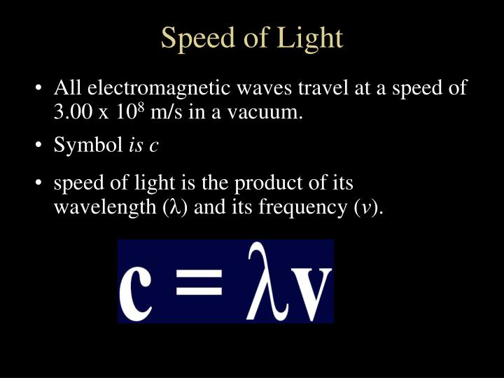 Speed of Light