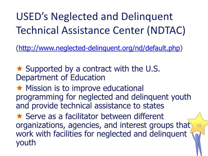 USED's Neglected and Delinquent