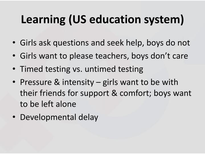 Learning (US education system)