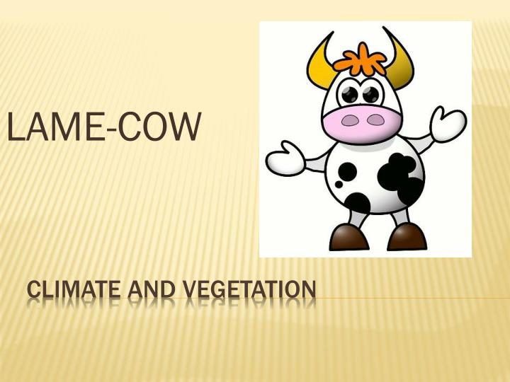 LAME-COW