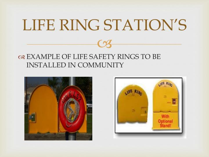LIFE RING STATION'S