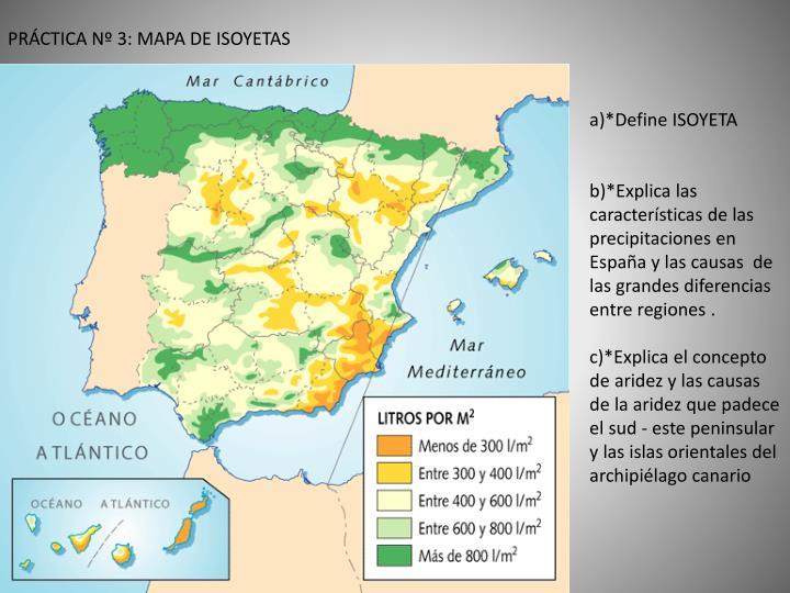 PRÁCTICA Nº 3: MAPA DE ISOYETAS