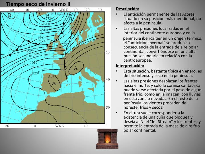 Tiempo seco de invierno II